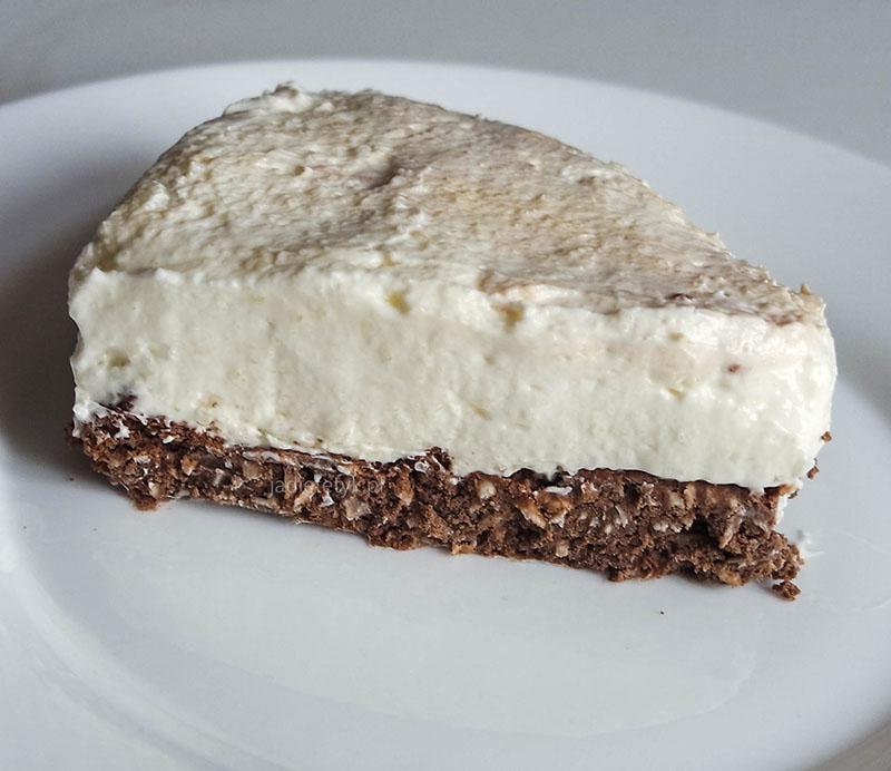 sernik chałwowy keto dieta ketogeniczna przepisy deser jadietetyk ciasto