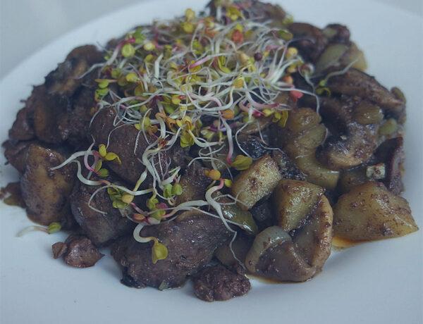 keto wątróbka obiad białkowo-tłuszczowy przepis dieta ketogeniczna jadietetyk