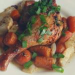 Pieczone udka z kaczki z warzywami (keto, lchf)