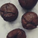 Czekoladowo-śliwkowe babeczki bez mąki (keto, lchf)