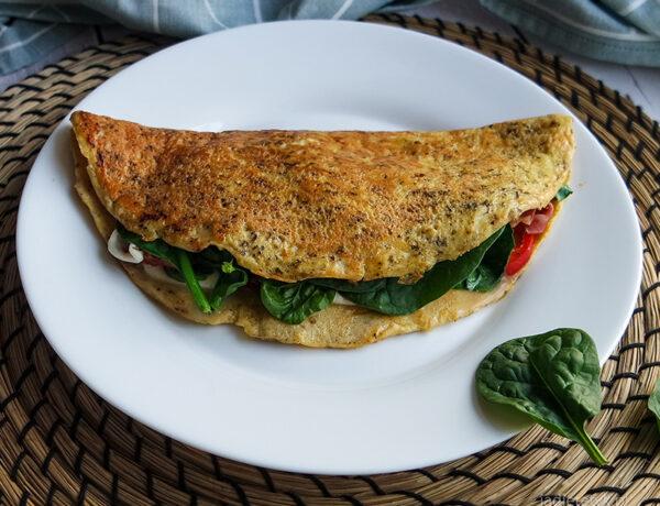 najlepszy keto omlet przepis dieta ketogeniczna jadietetyk